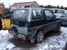 Daihatsu Feroza 1,6i pouze díly