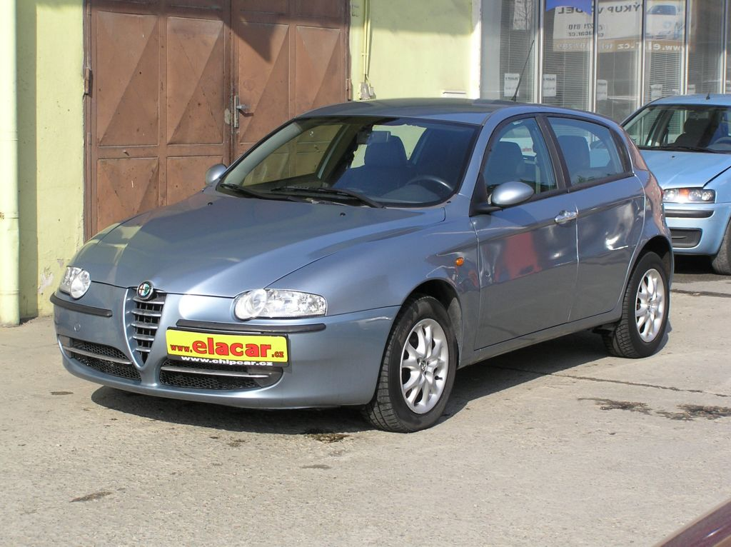 Alfa Romeo 147 1.9 JTD Digiklima,CZ doklady