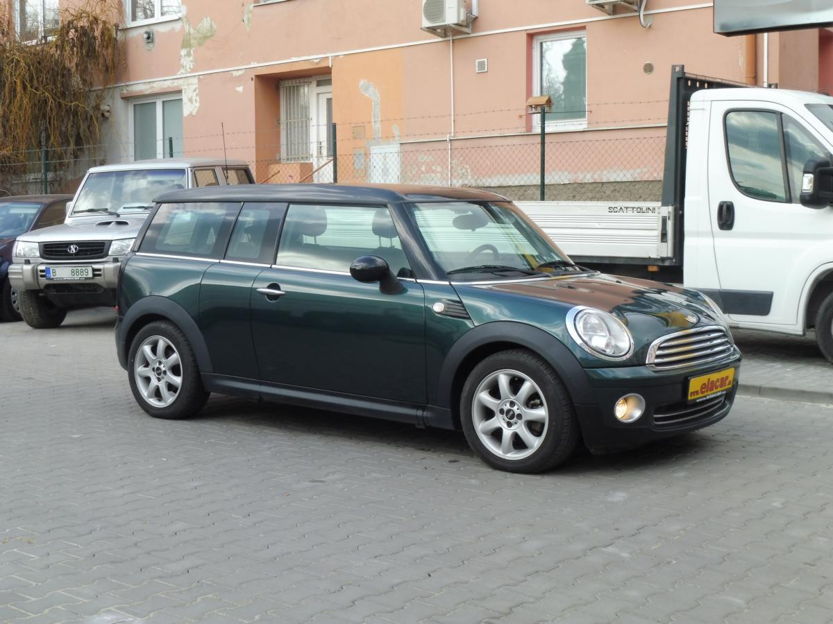 MINI Clubman 1.6 SERVISKA/TOP