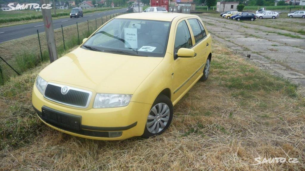 Škoda SKUTR Fabia 1,4 16V centr.el.okna pal.pc
