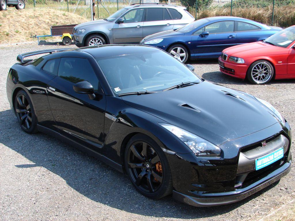 Nissan GT-R BLACK EDITION NOVÉ VČR