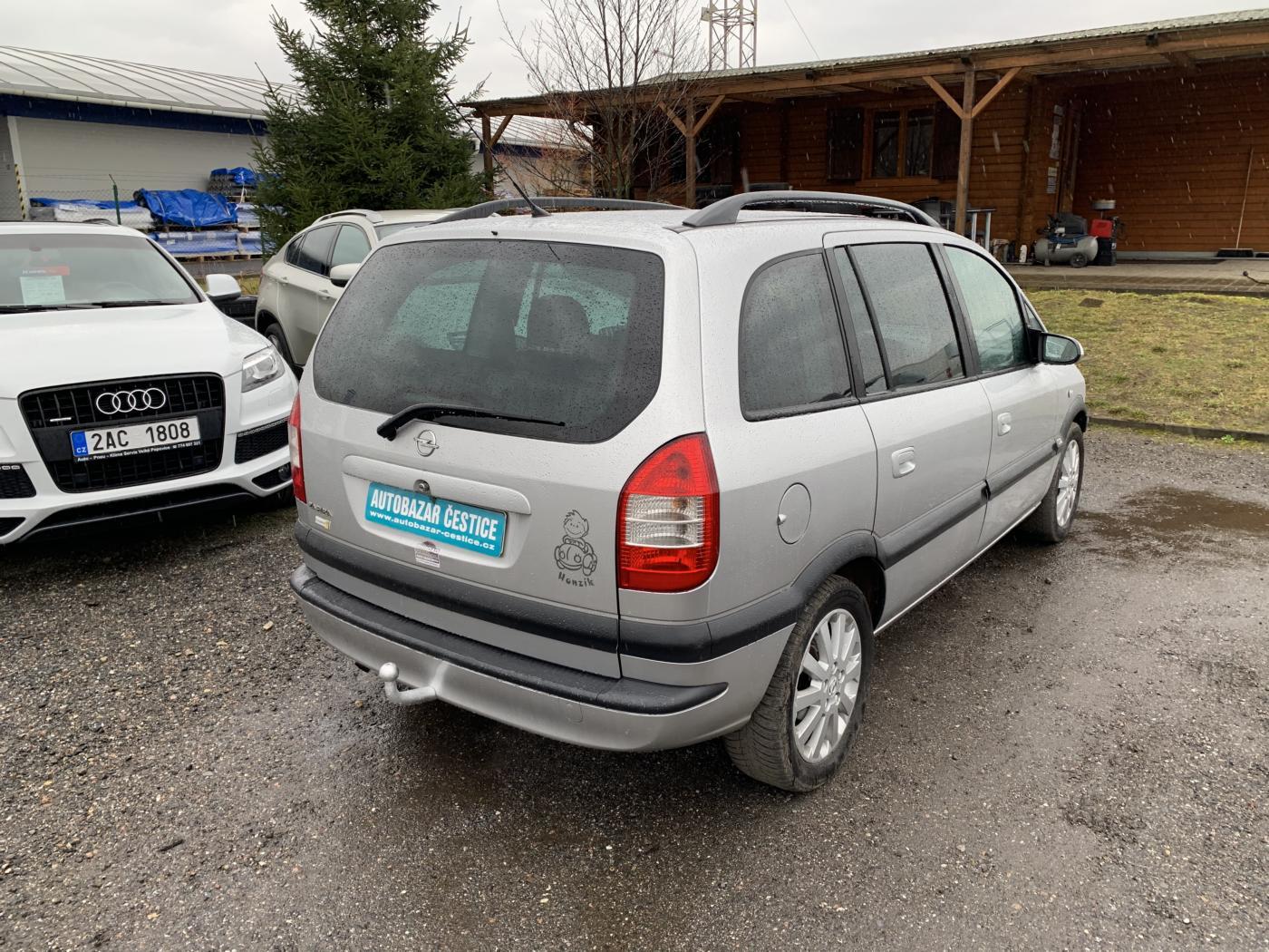 Opel Zafira 2.0 DTI 74KW 2003 7 MIST