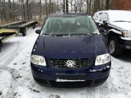 Volkswagen Touran 1.6 FSI TAŽNÉ SERVISKA