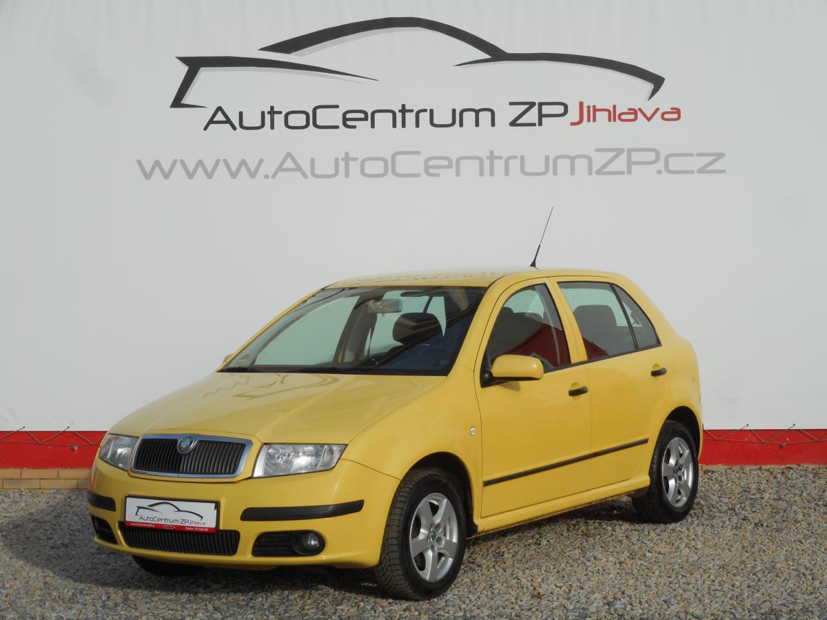 Škoda Fabia 1.4Tdi 55kW KLIMA ROZVODY