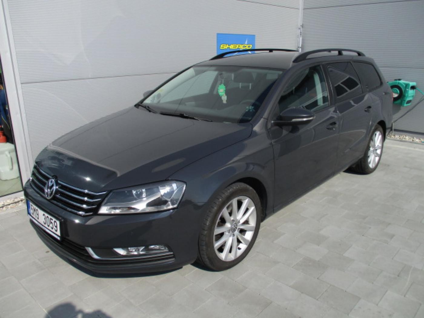 Volkswagen Passat 2.0 TDI Serviska, Top stav