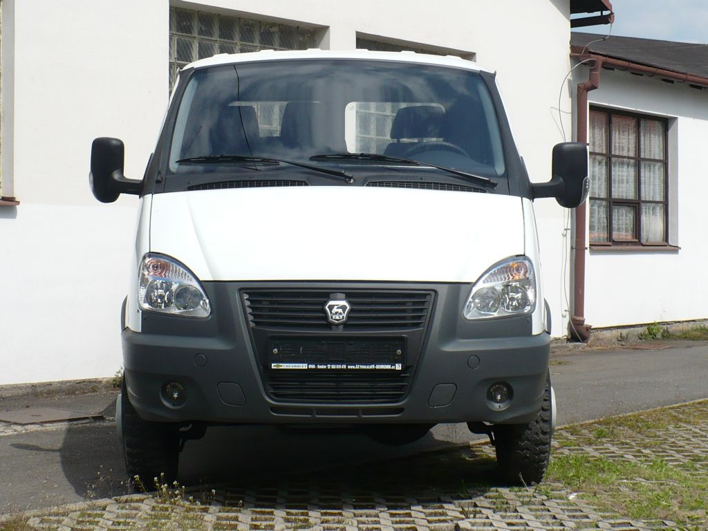 foto vozidla GAZ  terénní Gazelle 33207-350