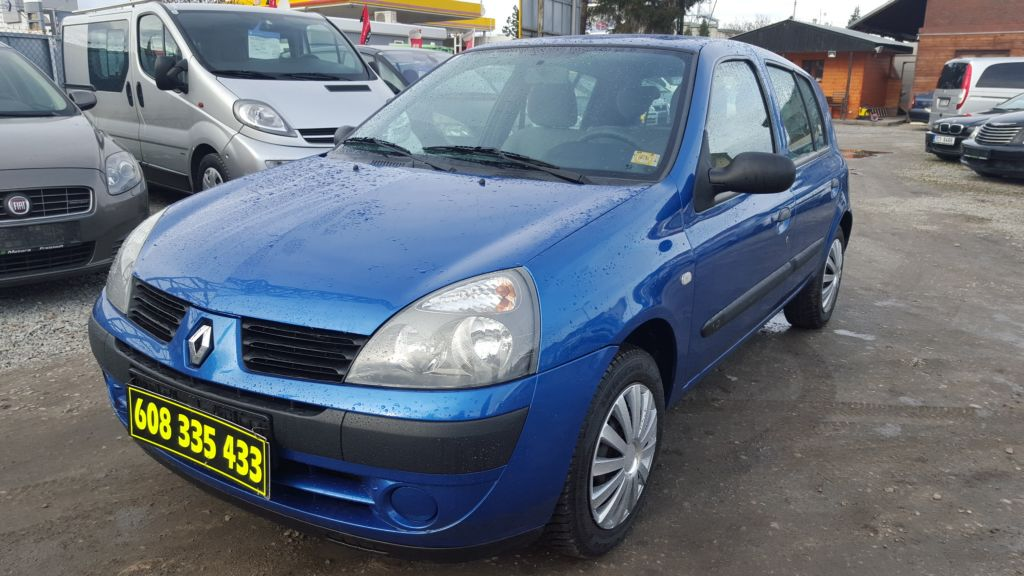 Renault Clio 1.2i,5.DV,KLIMA,ABS,EL.OKNA