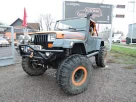 Jeep Wrangler 4.0 Offroad speciál UNIKOLKA