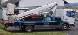 Mercedes-Benz Sprinter 22m plošina 10.5t teleskop