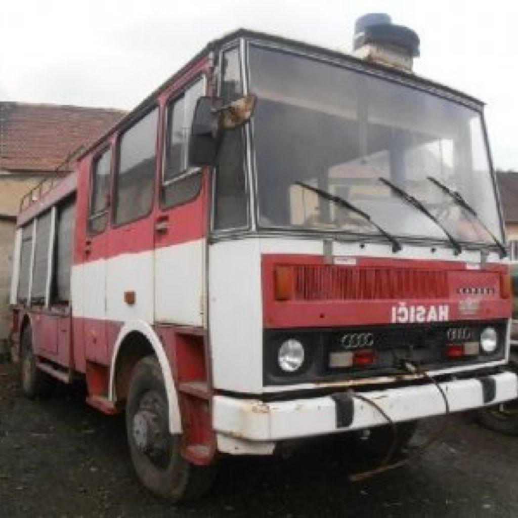 ostatní LC735 CAS25 4x4 hasič stříkačka
