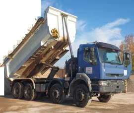 Renault 8x4 16m3 dumper 40/32t