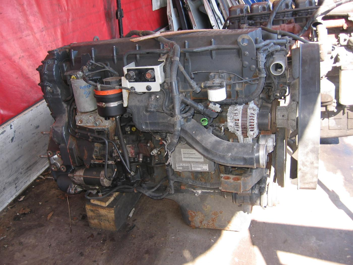 Iveco Daily Stralis 430 - motor Typ  F3AE0681D, Stralis 430 - motor Typ F3AE0681D,